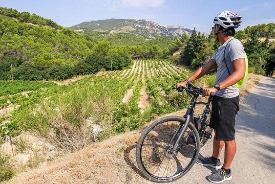 Biking in Provence